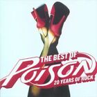 POISON The Best Of Poison 20 Years Of Rock CD BRAND NEW