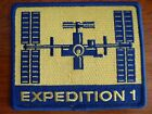 NASA ISS Station Expedition 1 Crew MISSION Yellow Version Space Patch Soyuz TM31