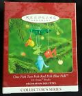 Hallmark ONE FISH TWO FISH RED FISH BLUE FISH - Dr Seuss Books #2 - Dated 2000