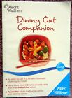 Weight Watchers Dining Out Companion 2010 Easy to Use A Z List