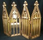 Dept Department 56 Nativity Backdrop Mirrored Folding Screen 12 Tall
