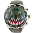 CORUM BUBBLE DIVE BOMBER 2004 CHRONO SHARK FACE DIAL STAINLESS STEEL MENS WATCH