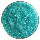 14 Lb Bullseye Coe 90 Lt. Aquamarine Blue Transparent Glass Frit Fusing Suppy