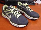 NIKE ANODYNE DS FLYWIRE RUNNING Sneakers Gray Yellow SIze 9