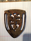 Vintage Cast Iron Trivet Sad Iron Antique
