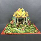 Vintage Advent Calendar Nativity Scene Pop up Christmas EO  Co Sweden