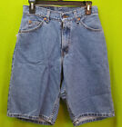 NEW Vintage Mens LEVIS 560 USA Made Loose Fit 13 Denim Shorts Size 28 NWT