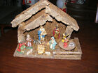 Vintage Nativity Manger Made In Italy With Music Box