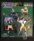 STARTING LINEUP : BRETT FARVE - 1998 EDITION GREEN BAY PACKERS NEW / SEALED