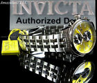 NEW Invicta Men 45mm Specialty Swiss Movement Yellow Dial Stainless Steel Watch