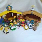 Fisher Price Little People And Veggie Tales Nativity Play Sets Lot Incomplete