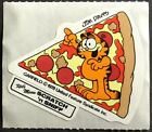 Vintage Garfield Stickers Scratch  Sniff Pizza Glossy Smells Awesome