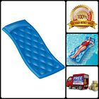 Swimming Quilted Aquaria Avena Lounge Foam Pool Float Closed Cell Flexible Blue