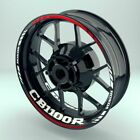 Honda CB1100R Wheel Decals Rim Stickers CB1000R CBF CB650 CB Rims Set CB500F