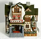 Christmas Village House Imperial Chalet Collectable Retired  Porcelain 1563