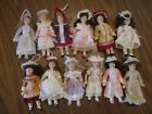Victorian Style Mini Doll Christmas Ornaments
