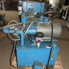 HYDRAULIC POWER UNIT W VALVES AND BALDOR MOTOR