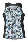 Kerrits Ice Fil Tank Top with Contrasting Side Panels and Cooling Fabric