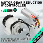 Electric Brushless Motor Tricycle Motor 48V DC 750W w Controller DIY Tricycle