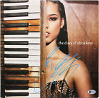 Alicia Keys Signed The Diary Of Alicia Keys Album Cover W/ Vinyl BAS #D37180