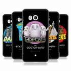 OFFICIAL DOCTOR WHO CLASSIC VILLAINS HARD BACK CASE FOR HTC PHONES 1