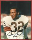 JIM BROWN # 32 HAND SIGNED AUTOGRAPHED 8