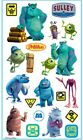 Jolees Disney MONSTERS INC Flat Stickers MIKE SULLEY