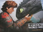 How to Train Your Dragon 2 Pressbook Oscar Ad consideration Press Book NEW a