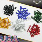 NT Complete Fairing Bolt Kit Body Screws Fit for Kawasaki Ninja ZX6R EX250 250R