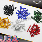 NT Complete Fairing Bolt Kit Body Screws Fit for Honda CBR600RR 1000RR F4I 900RR