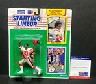 Deion Sanders Signed Atlanta Falcons Rookie Year Starting Lineup PSA 8A58271