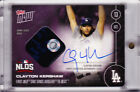 Clayton Kershaw Autograph 2016 Topps NOW 579-E Game Used Blue Base 05 25 AUTO