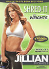 Jillian Michaels Shred It With Weights DVD 2010 NEW