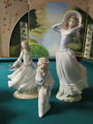 LLADRO SPAIN SCULPTURE FIGURINES-PICK ONE- LADY WIND 14