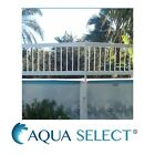 Aboveground Swimming Pool Resin Safety Fence Base Kit C 2 Sections Color White