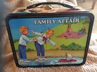 VINTAGE LUNCHBOX THERMOS FAMILY AFFAIR METAL 1969 BUFFY MRS BEASLEY LUNCH BOX TV