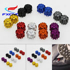 2/4/6/8 FXCNC Motorcycle Car Truck Wheel Tire Valve Stem Air Dust Caps Cover