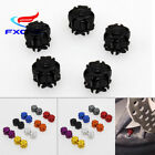 Universal 2/4/6/8 Tyre Tire Wheel Valve Stems Air Cap Dust Cover For Motorcycle