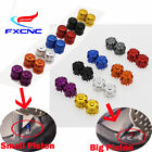 CNC Wheel Tyre Tire Valve Air Dust Cover Cap For Honda CBR125R 300R 500R 8Colors