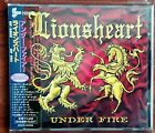 LIONSHEART Under Fire CD PCCY01224 (Japan) Like New