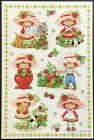 Vintage Stickers Strawberry Shortcake Adorable Mint Condition
