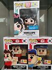 Funko Pop! Wreck It Ralph SDCC Exclusive Felix and Ralph 8-Bit and Vanellope