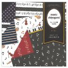 Japanese 6 Double Sided Music Chiyogami Origami Paper 30 Sheets Made in Japan