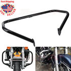 Engine Guard Crash Bar For Harley FLHR Electra Glide Classic FLH 1997-2008 BLACK