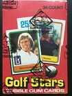 1981 Donruss Golf Wax Box BBCE Authenticated. Possible Jack Nicklaus Rookie!