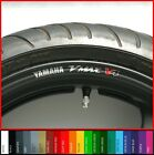 8 x V-MAX V4 Wheel Rim Stickers Decals - Choice of Colours -  vmax 1200 1700 v 4