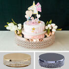 155 wide Metal Beaded CAKE STAND Wedding Party Home Birthday Decorations SALE