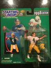 1998 Starting Lineup Lot of 4 (Favre, Elway, Smith, Rice) MIB