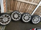 18 BMW MV2 Alloy Wheels And Tyres