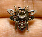 BEAUTIFUL SMALL VINTAGE / ANTIQUE SILVER BEE UNFINISHED PIECE JEWELLERY (A24)